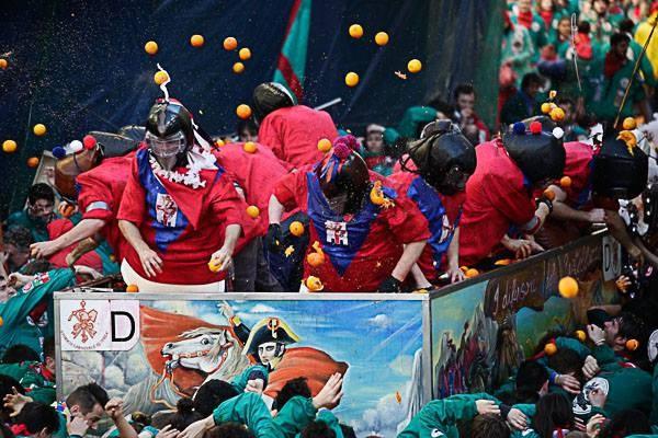 Historical Carnival of Ivrea